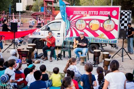 מתוך אירוע  זאזא עבור עיריית ירושלים, צילם: דניאל אליאור